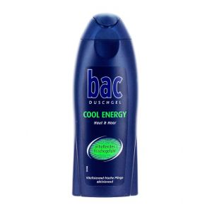 Bac Gel de dus barbati 250 ml Cool Energy