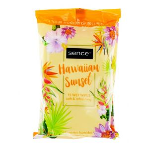 Sence Beauty Servetele umede 15 buc Fresh Citrus