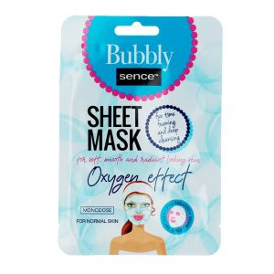 Sence Beauty Masca de fata 20 ml Oxgen Effect albastru