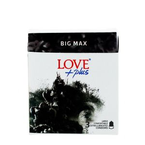 Love Plus prezervative 3 buc Big Max