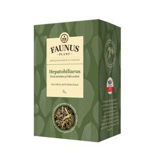 FAUNUS Ceai Hepatobiliarus 90 g (Ficat sanatos)