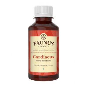FAUNUS Tinctura Cardiacus 200 ml (Inima sanatoasa)