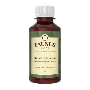 FAUNUS Tinctura Hepatobiliarus 200 ml (Ficat sanatos)