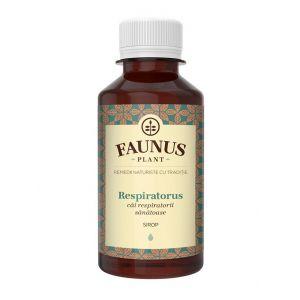 FAUNUS Sirop Respiratorus 200 ml (Cai respiratorii sanatoase)