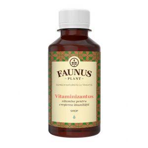 FAUNUS Sirop Vitaminizantus 200 ml (Vitamine pentru cresterea imunitatii)