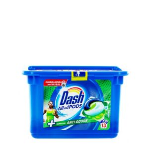 Dash Detergent Capsule 13 buc All in1 Anti-Odore