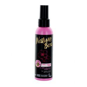 Nature Box Tratament spray cu ulei de migdale pentru par fin 150 ml Almond Oil