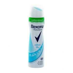 Rexona Spray deodorant femei 75 ml(compresat) Cotton Dry