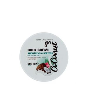 Coconut Crema de corp 200 ml Smoothens&Softens