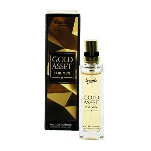 Ilvande Parfum barbati 15 ml Gold Asset