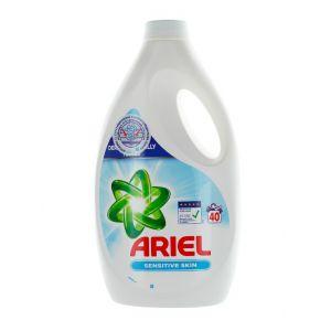 Ariel Detergent lichid 2.2L 40 spalari Sensitive Skin