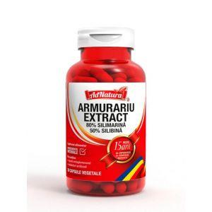 AdNatura Armurariu Extract 30 capsule vegetale 80% silimarina 50%silibina