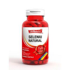 AdNatura Seleniu Natural 200 mcg 30 capsule vegetale
