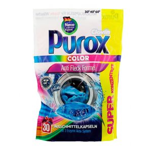 Purox Detergent Capsule 30 buc Color