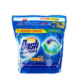 Dash Detergent Capsule 42 buc All in1 Classico
