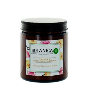Airwick (Botanica) Lumanare odorizanta 205 g Vanilla&Himalayan Magnolia