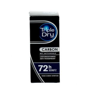 Triple Dry Roll-on Barbati 50 ml Carbon