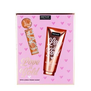 Sence Beauty Caseta femei:Lotiune de corp+ Breloc 150 ml Love Is Gold