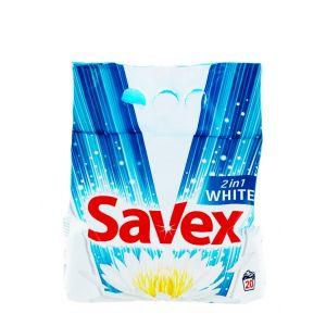 Savex detergent automat 1.8 kg 20 spalari 2in1 White