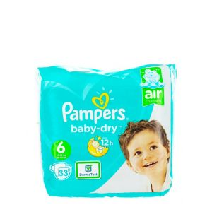 Pampers Scutece nr.6  13-18 kg 33 buc Baby-Dry