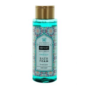 Sence Of Wellness Spuma de baie 400 ml Emerald