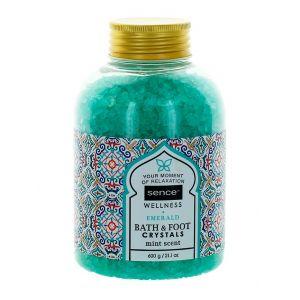 Sence Of Wellness Sare de baie 600 g Emerald