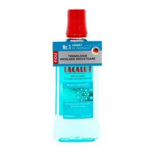 Lacalut Apa de gura (actiune antibacteriana) 500 ml Multi-Effect