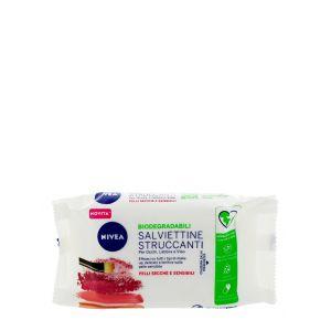 Nivea Servetele demachiante 25 buc Biodegradabile Sensibile