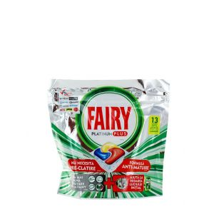 Fairy Capsule masina de spalat vase 13 buc Platinum Plus