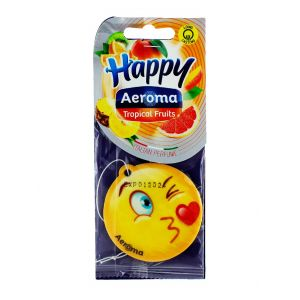 Happy Aeroma Odorizant auto 1 buc Tropical Fruits