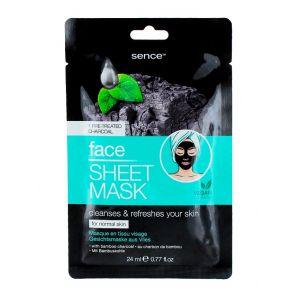 Sence Beauty Masca de fata 24 ml Charcoal
