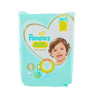 Pampers scutece nr. 6 13+ kg 21 buc Premium Protection