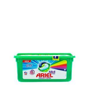 Ariel Detergent Capsule 28 buc Allin1 Color Touch of Lenor