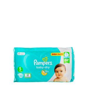 Pampers Baby Dry nr.5 11-16 kg 110 buc Giga Pack