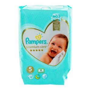 Pampers Scutece nr.5 11-16 kg 17 buc Premium Care
