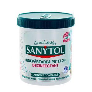 Sanytol Pudra dezinfectanta pentru indepartarea petelor 450 g Color