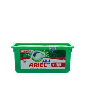 Ariel Detergent Capsule 24 buc All in1 Ultra Oxi