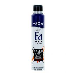 Fa Spray deodorant 200 ml Men Invisible Power