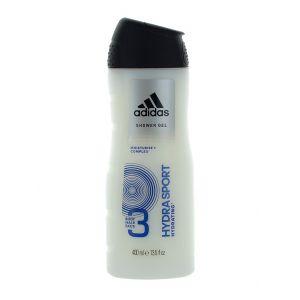 Adidas Gel de dus Barbati 400 ml Hydra Sport 3 in 1