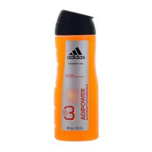 Adidas Gel de dus Barbati 400 ml Adipower 3in1