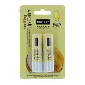 Sence Beauty Balsam de buze 2x4.3 g Coconut