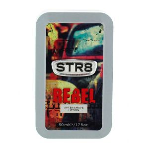 STR8 After Shave in cutie metalica 50 ml Rebel